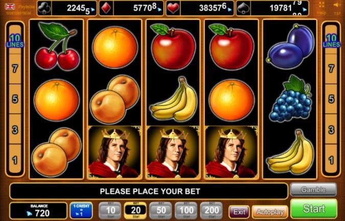 spilleautomater for vegetarianere